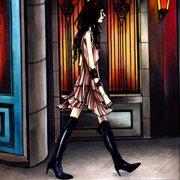 jimama「街」CDジャケット(Sony Music Japan International Inc.)2004年 横長ブックレット