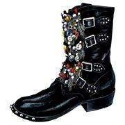 """Shoes:00027 """"SAINT LAURENT PARIS"""" boots(AW2013)"""