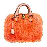"""Louis Vuitton""fur bag(FW2013)"