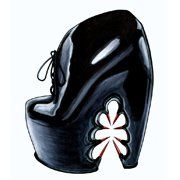 "Shoes:00062 ""Iris van Herpen × UNITED NUDE"" Thorn shoes(AF2012)"