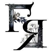 """""""FR""""(ヘアサロン""""FRAME"""" ロゴデザイン)"""