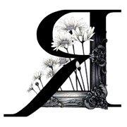 """""""R""""(ヘアサロン""""FRAME"""" ロゴデザイン)"""