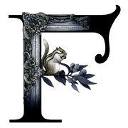 """""""F""""(ヘアサロン""""FRAME"""" ロゴデザイン)"""