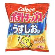 """""""カルビー ポテトチップス うすしお味 60g"""""""