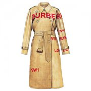 """BURBERRY"" Horseferry Print Cotton Gabardine Trench Coat (SS2019)"